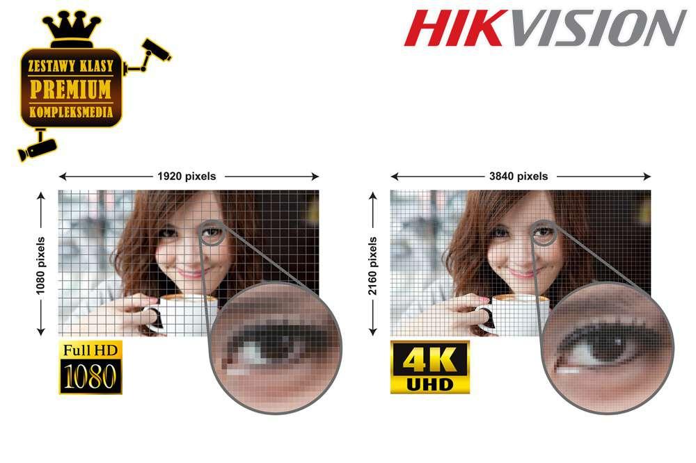 HIKVISIONTurboHD4.0 - OBRAZ UHD 4K JAK ŻYWY