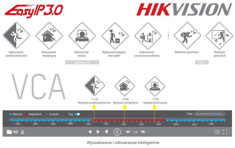 inteligentne systemy detekcji i analizy obrazu hikvision vca