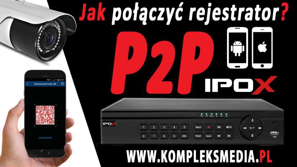 jak połączyć podłączyć rejestrator p2p ipox co to jest