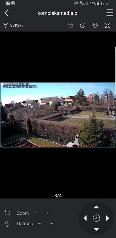 monitoring p2p na telefonie lte 4g podgląd kamer lanberg