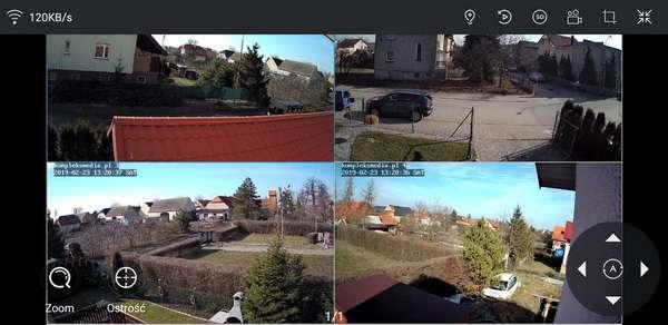 monitoring p2p na tablecie lte 4g podgląd kamer lanberg