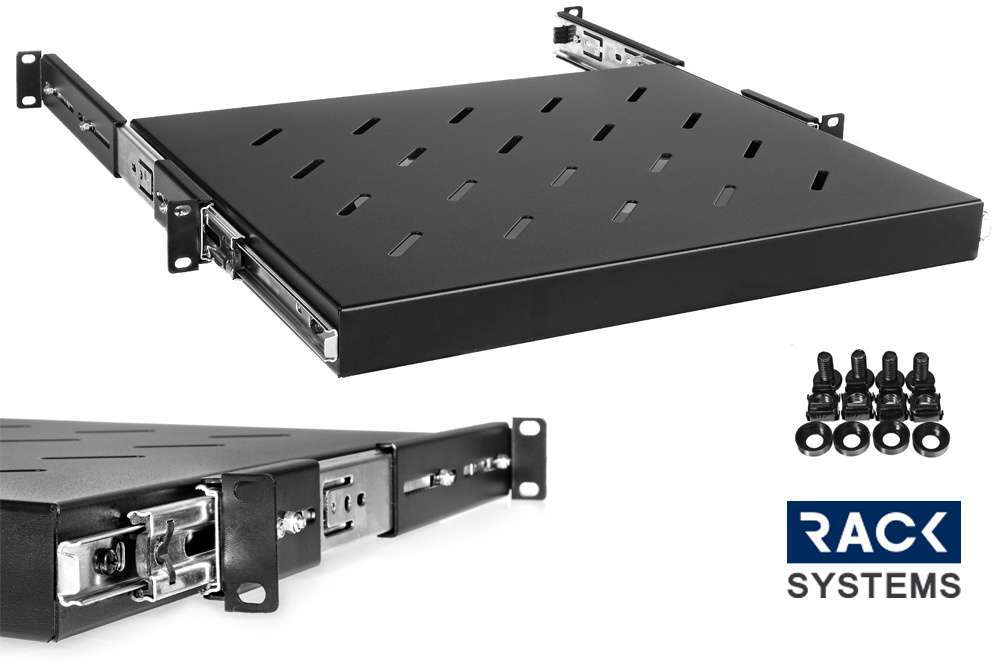 Wysuwana półka rack do szafy Rack Systems 600mm