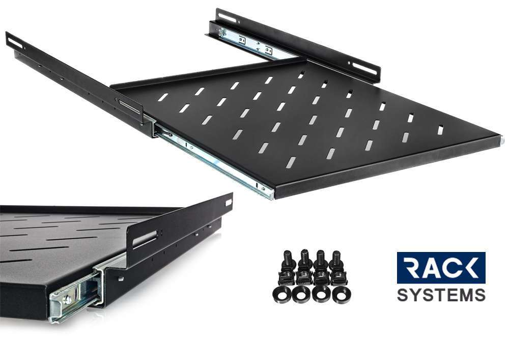 ''Wysuwana półka rack do szafy Rack Systems 800mm