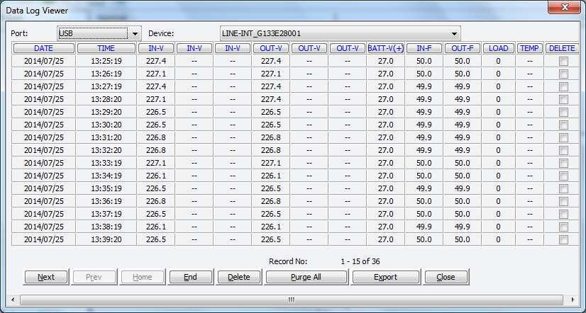 Winpower Manager data log ups