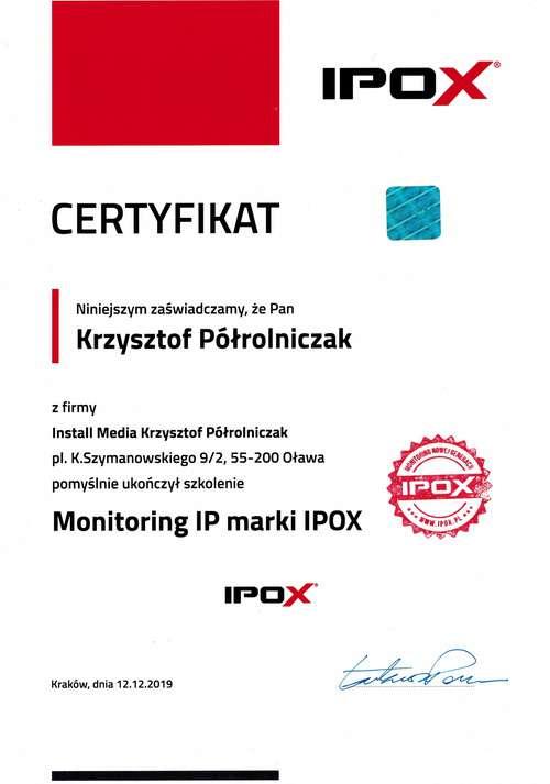 Szkolenie IPOX 2019